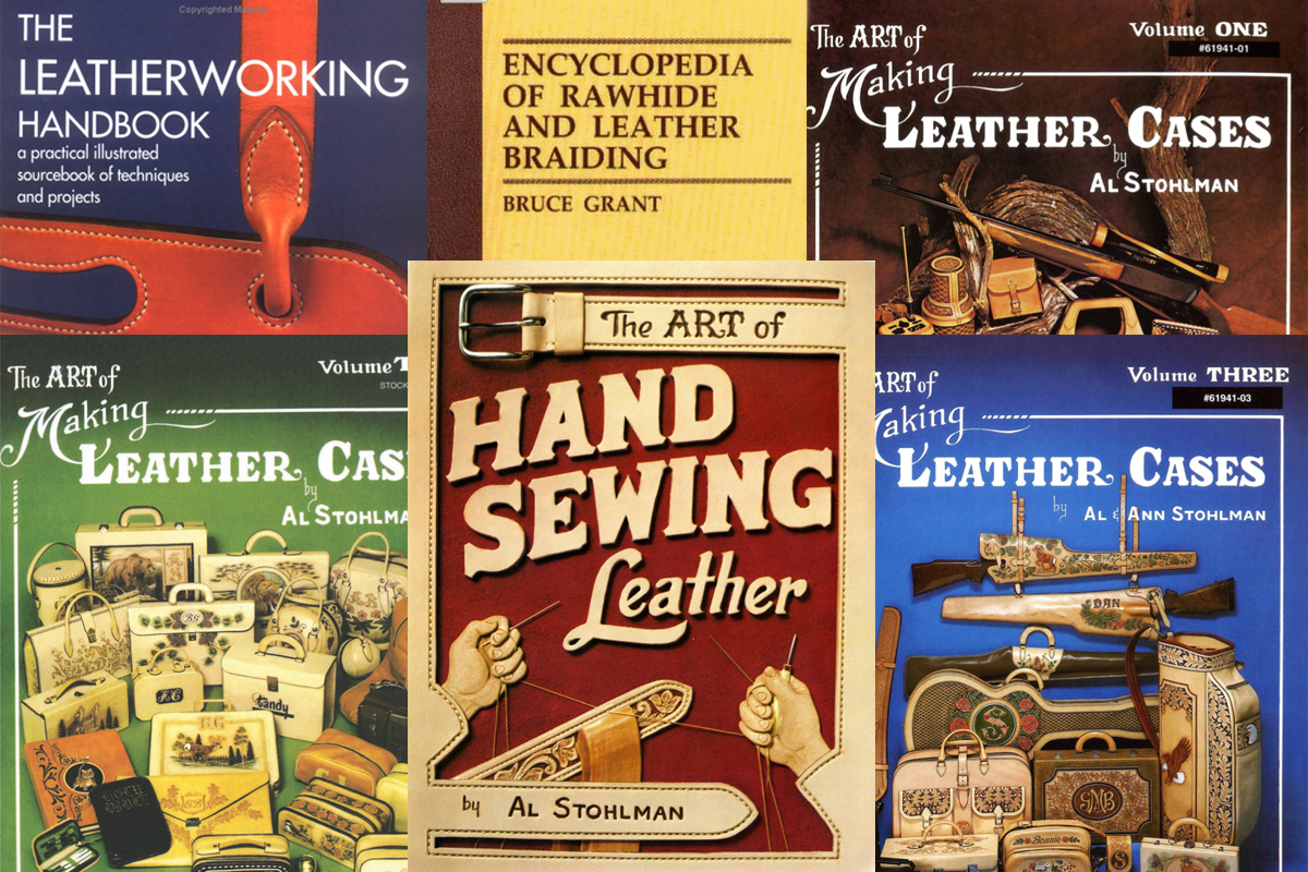 5 good books to read about leather work and braiding
